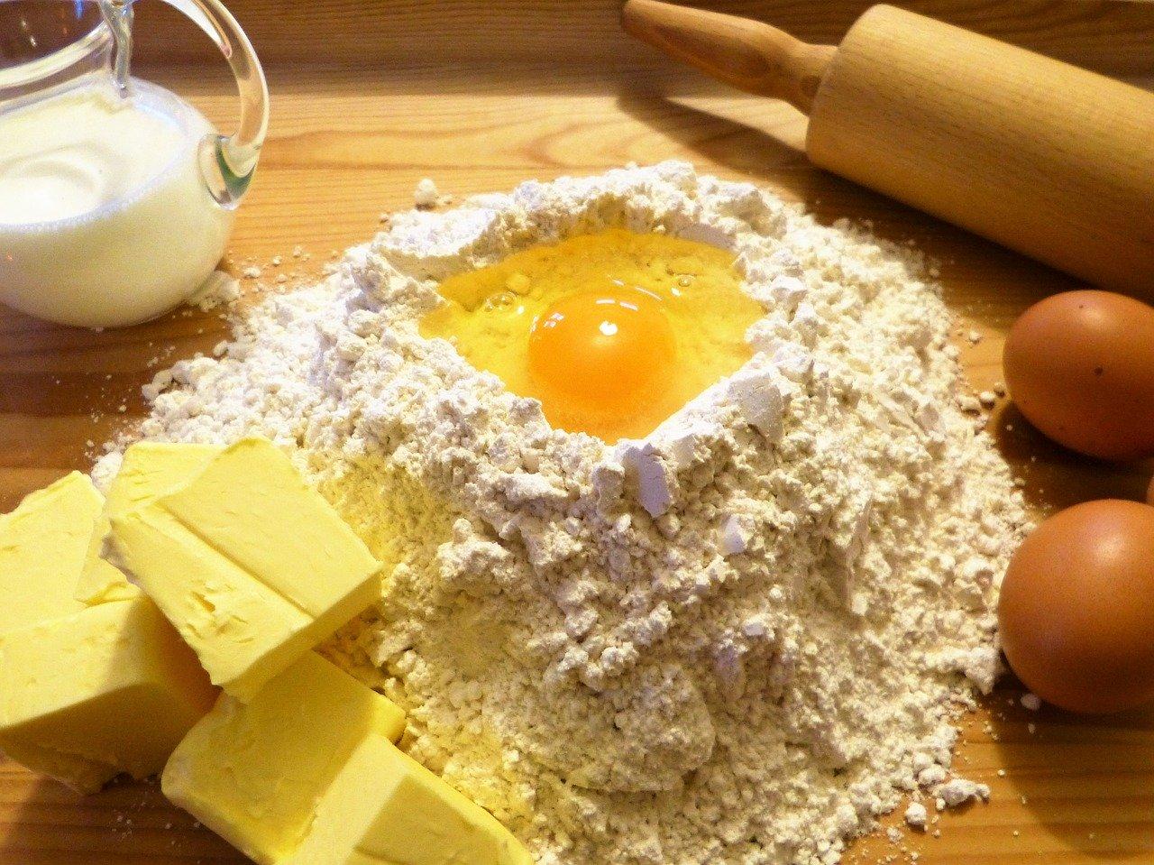 Allergia alle uova, latte e burro, come sostituirle nelle ricette